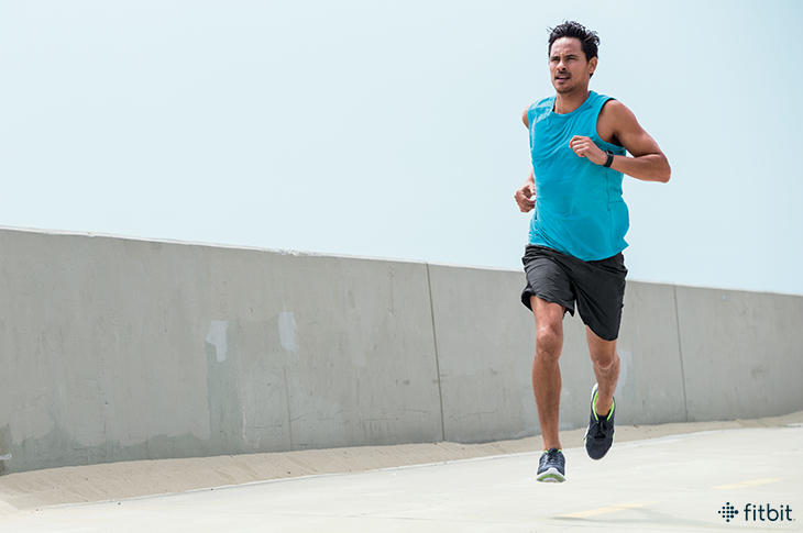 Fitbit Charge 2 Interval workout